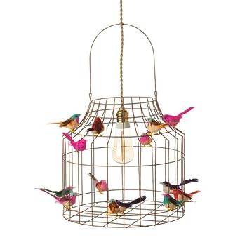 Lampe suspension Table Cuisine, DIMM Bar, de la cage à oiseaux avec ...