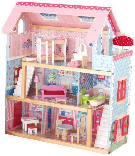 6 X KidKraft Chelsea Doll Cottage with Furniture