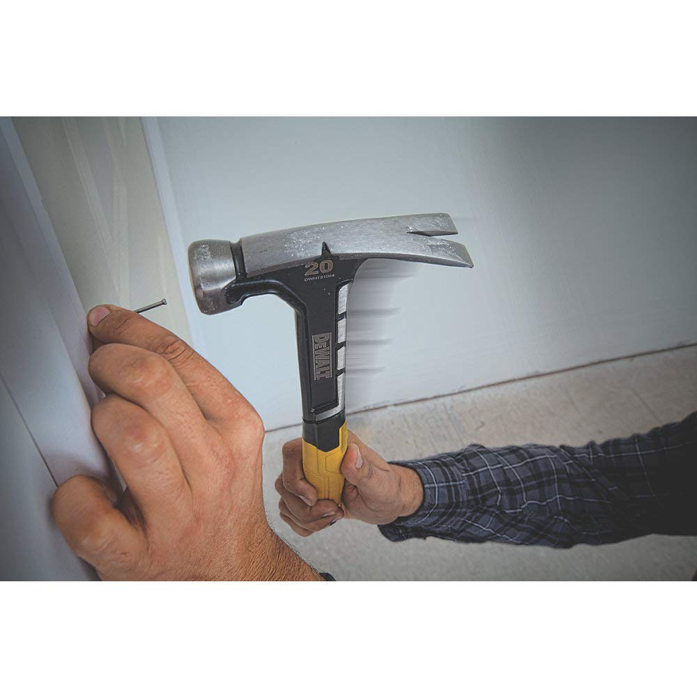 Amazon.com : DEWALT DWHT51054 20 Oz. Rip Claw Hammer : Garden & Outdoor