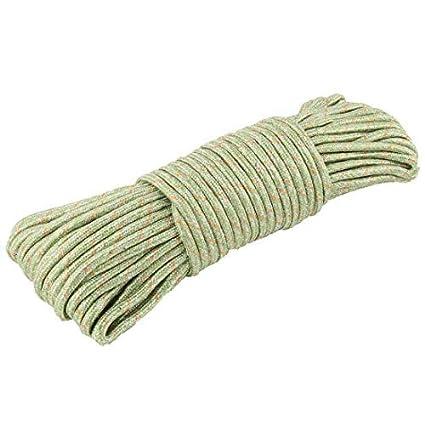 eDealMax de Nylon antideslizante a prueba de Viento del hogar Colgando ropa Cadena cuerda Para Tender