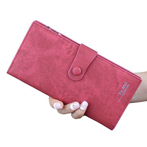 YYW purses for women - Cartera para mujer  Mujer Burdeos