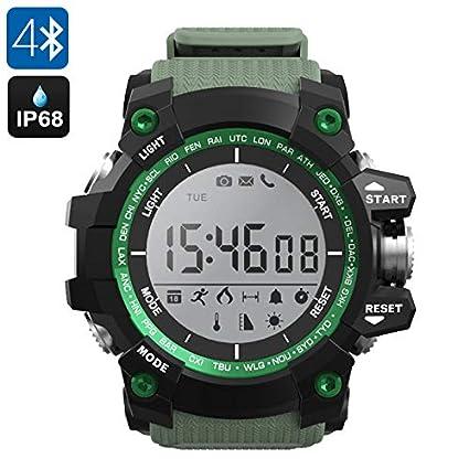 Amazon.com: Generic No.1 F2 Outdoor Bluetooth Watch - Ip68 ...