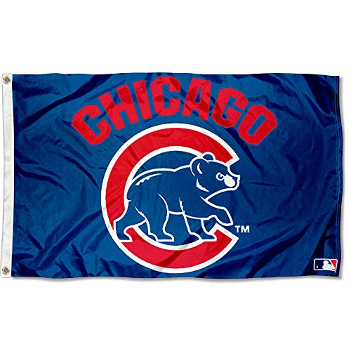 WinCraft MLB Chicago Cubs Flag 3x5 Banner ()