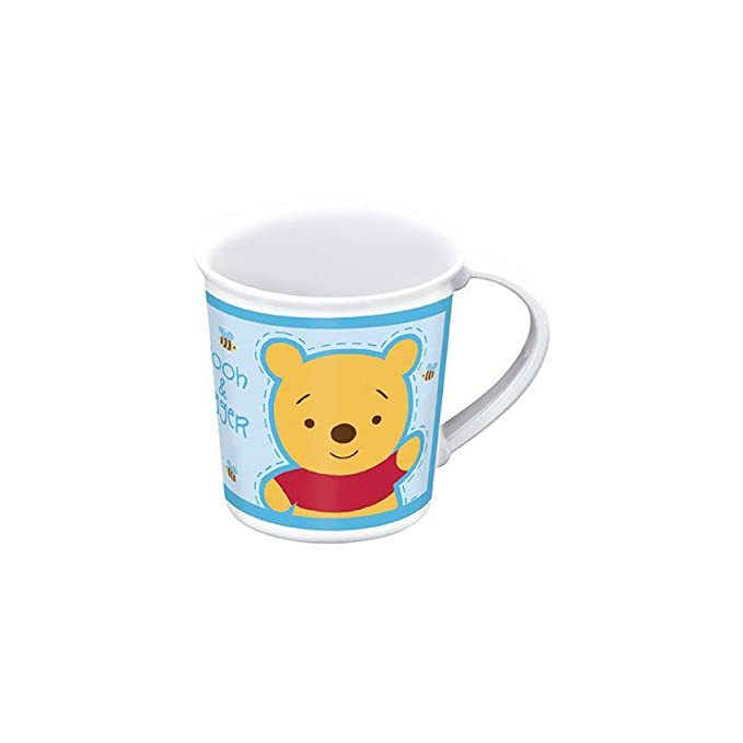 Taza Microondas 28 cl Winnie Baby Azul Homemade Hugs: Amazon.es ...