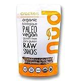 nud fud Organic Raw Crackers, Cheezy, 66g