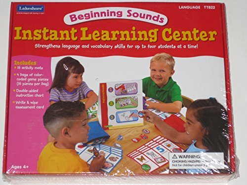 Lakeshore Beginning Sounds Instant Learning Center