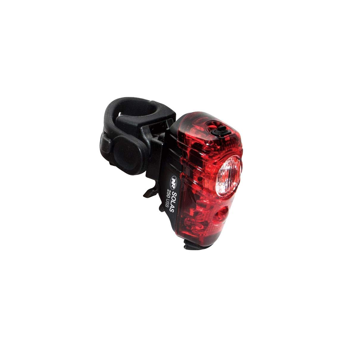 NiteRider Solas 250 Tail Light Black, One Size