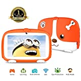 Kids Tablet ,Android 9.0 Tablet for kids Parental Control Tablet with WiFi Learning Games Camera Kids Mode Pre-Installed Tablet for Children Kid-Proof Silicone Case 7 inch Tablet 1G+16G