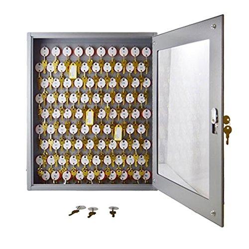 STEELMASTER Dupli-Key Vue Locking Key Cabinet, 30 Key Capacity, 14