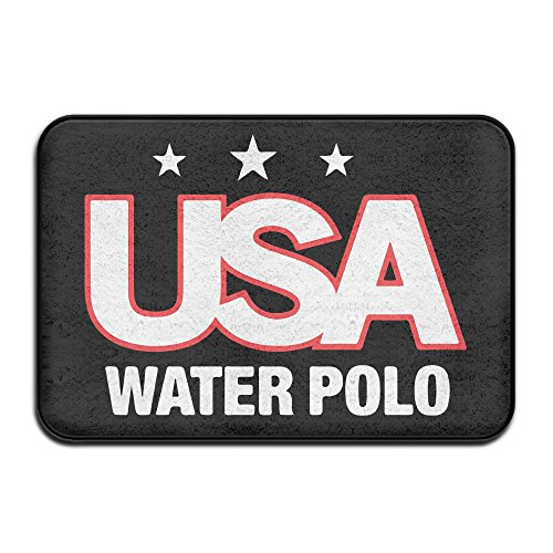 Usa Water Polo Doormat And Dog Mat ,40cm60cm Non-slip Doormats,Suitable For Indoor Outdoor Bathroom Kitchen Doormat And Pets