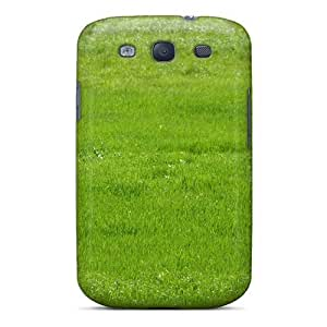 Cute High Quality Galaxy S3 Deer Green Field Case