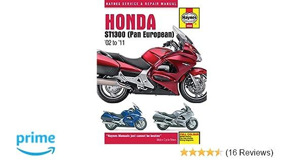 Honda st1300 pan european 02 to 11 haynes service repair honda st1300 pan european 02 to 11 haynes service repair manual john a wegmann 9781844259083 amazon books fandeluxe Choice Image