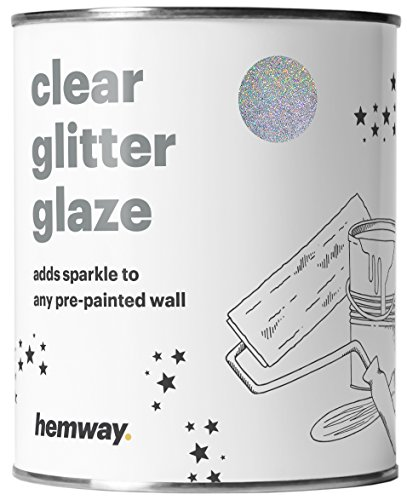 hemway-clear-glitter-paint-glaze-silver-holographic-1l-quart-for-pre-painted-walls-acrylic-latex-emu