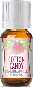 Cotton Candy Scented Oil by Good Essential (Premium Grade Fragrance Oil) - Perfect for Aromatherapy, Soaps, Candles, Slime, Lotions, and More!