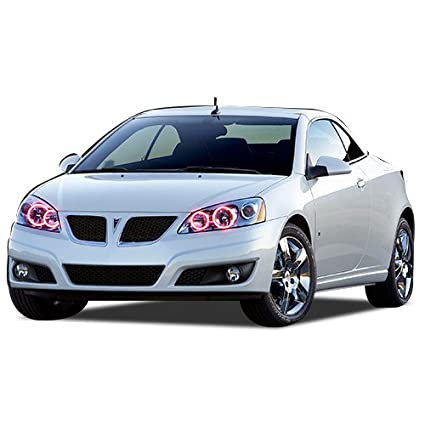 2d65444053026 Amazon.com: FLASHTECH Pontiac G6 05-10 Red Single Color LED Halo ...