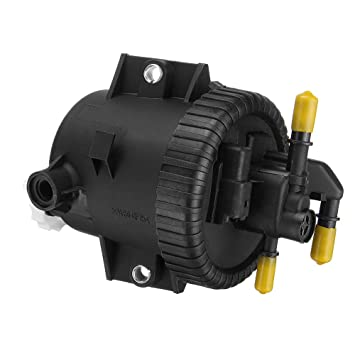 Pukido - Carcasa para filtro de combustible para Citroen Berlingo Xsara Picasso 206 306 307 2.0 HDi, color negro: Amazon.es: Bricolaje y herramientas