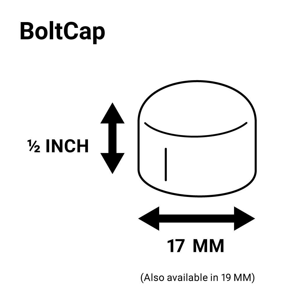 ColorLugs Vinyl BoltCap Cover Red   Flexible Fit Bolt Nut Cap   Fits 17mm wide x ½ Inch deep   Pack of 25 & Deluxe Extractor   Available in a Variety of Colors   Made in the USA by ColorLugs (Image #4)