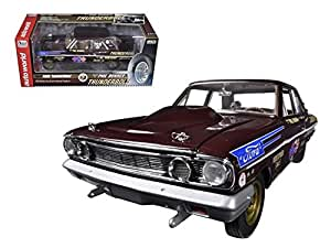 autoworld aw219 1964 ford thunderbolt phil bonner limited to 1250 piece 1 18 diecast. Black Bedroom Furniture Sets. Home Design Ideas