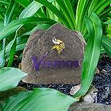 NFL Minnesota Vikings Team Logo Faux Rock Lawn