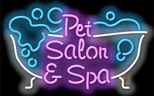 Pet Salon & Spa Neon Sign