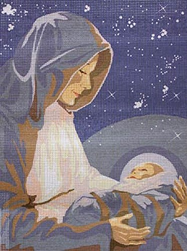 LA MADONE, THE REASON FOR THE SEASON NEEDLEPOINT CANVAS FROM SEG #926.202