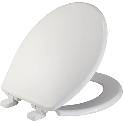 Fantastic Mayfair Just Lift Toilet Seat Lifts Up For Easy Cleaning Round Long Lasting Solid Plastic White 84Slowj Gmtry Best Dining Table And Chair Ideas Images Gmtryco