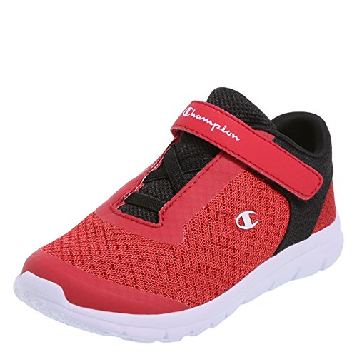 Champion Boy's Red Black Toddler Performance Gusto Cross Trainer Little Kid Size 11.5 Regular