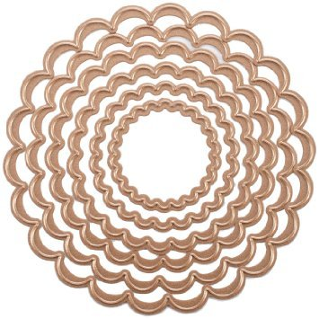 Classic Scallop Circle - Spellbinders Nestabilities Dies-Classic Scallop Circle Small