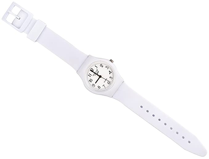 Amazon.com: Sunshine Boys Girls Watches,Teenagers Kids Student Time Wrist Watch Soft Comfortable Silicone Band Mini (Pure White): Health & Personal Care