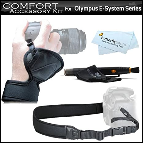 Comodidad Kit para OLYMPUS FE-200 serie cámaras réflex digitales ...