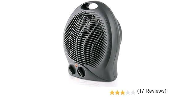 Taurus Gobi Calefactor, termoventilador, silencioso, 2000 W, termostato ajustable, función ventilación, 2 posiciones de calor, asa de transporte, ...