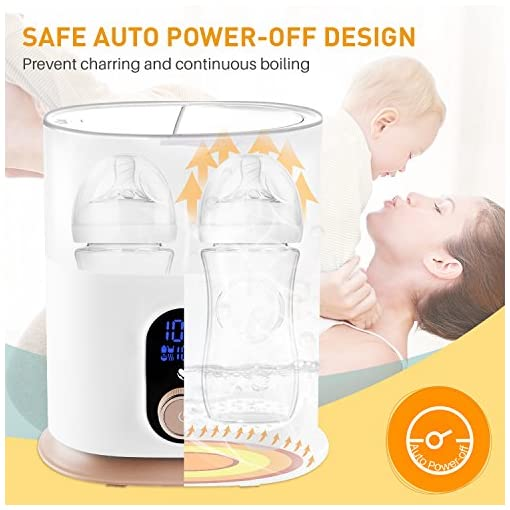 Fabroop Baby Bottle Warmer Smart Thermostat 4 in 1