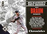 2017 Panini Chronicles #40 Ryan Braun Milwaukee Brewers Baseball Card