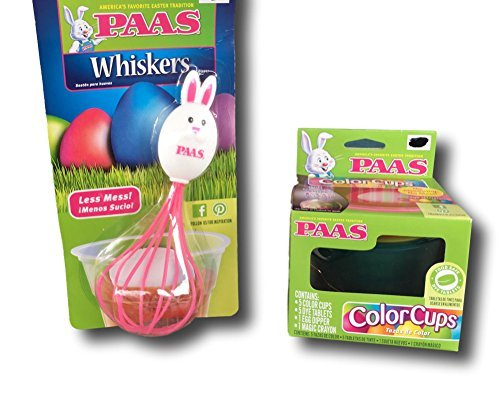 Paas Easter Egg Dye Coloring Cups & Paas