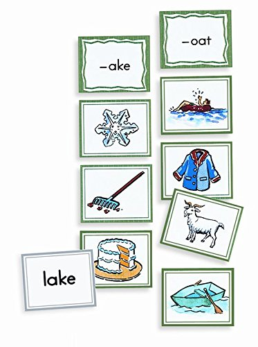 Primary Concepts AA1072 Sound Sorting Pictures: Rhymes