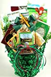 Gift Basket Village Tee Time Golf Themed Gift Basket for Golfers