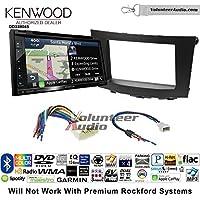 Volunteer Audio Kenwood Excelon DNX694S Double Din Radio Install Kit with GPS Navigation System Android Auto Apple CarPlay Fits 2010-2013 Suzuki Hizashi