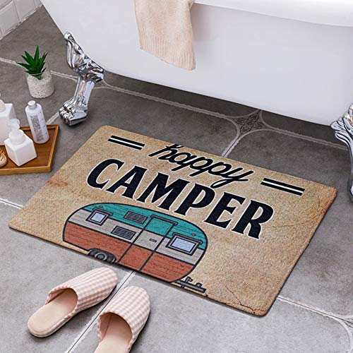 46e7b036bd194 MG554zy0 Happy Camper Camping Door Mat Entrance Floor Rug Bathroom Pad Non  Slip Carpet Happy Camper Camping Door Mat Entrance