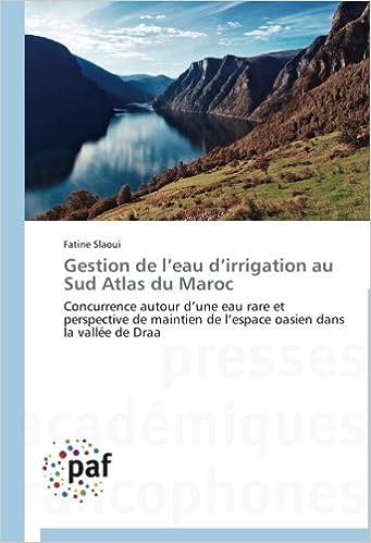 Gestion de l'eau d'irrigation au Sud Atlas du Maroc: Concurrence autour d'une eau rare et perspective de maintien de l'espace oasien dans la vallée de Draa pdf, epub ebook
