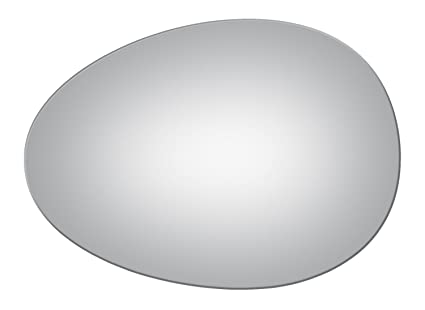 Amazon Com Flat Driver Side Mirror Replacement Glass For 2007 2015
