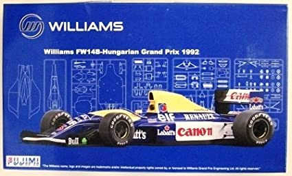 1//20 Scale Williams FW14B Hungarian Grand Prix 1992 Model Construction Kit Fujimi GP-26