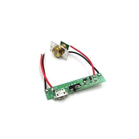 LCDRS-SHINE 650 NM 50 MW Rojo láser componente/Tarjeta de ...