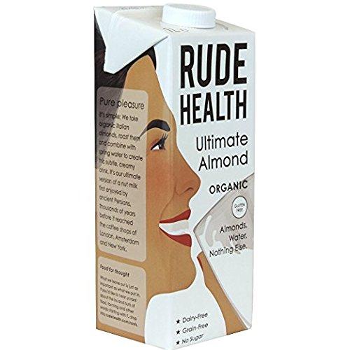 Rude Health Organic Almond Milk 1ltr - (2 Pack)