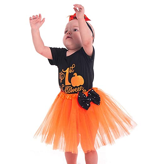 0ef2e9d80a09 Amazon.com  Baby Girls Halloween Outfit Sets