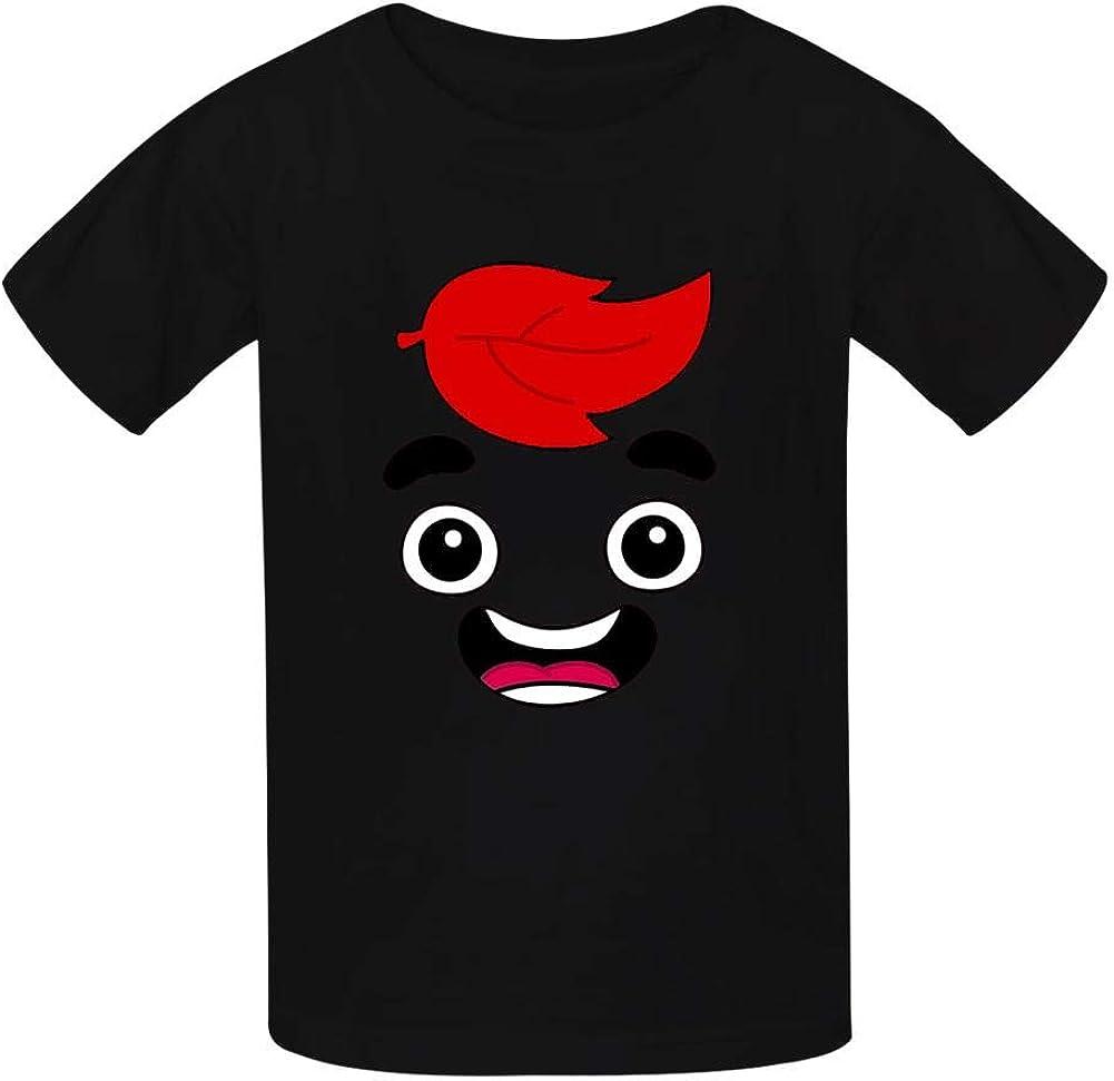 NJLLOS Guava Juice Kid//Youth T-Shirts 3D Casual Short Sleeve O-Neck Tees