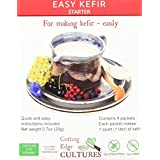 Cutting Edge Cultures Easy Kefir Starter Culture, 4 Pack, 20g