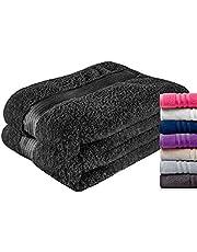 Twinzen Zestaw ręczników z ręcznikami i ręcznikami kąpielowymi – 100% bawełna bez chemii – jakość hotelowa i wellness – certyfikat Oeko Tex – miękki i chłonny – można prać w pralce, basen