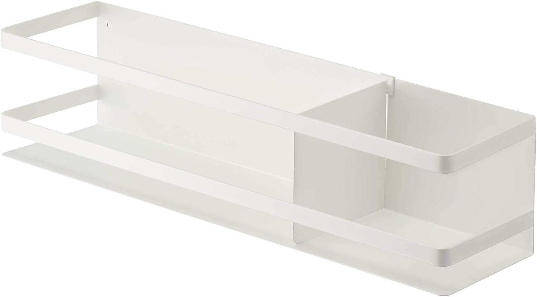 YAMAZAKI home Storage Basket, White