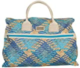 Nicole Miller Anette Box Bag Carry On (Teal)