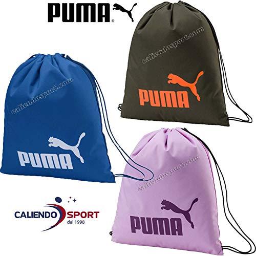 (PUMA Phase Sack Gym Bag, Unisex Adult, Unisex-Adult, 74943, Limoges, OSFA )